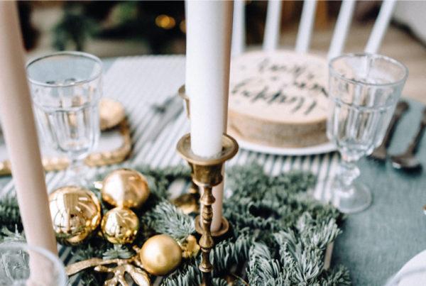 Que tu mesa luzca brillante el día de Navidad con Mistol